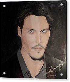 Johnny Depp - The Actor Acrylic Print