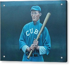 Johnny Evers Acrylic Print by Mark Haley