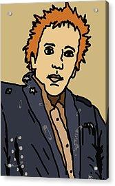 Johnny Rotten Acrylic Print by Jera Sky
