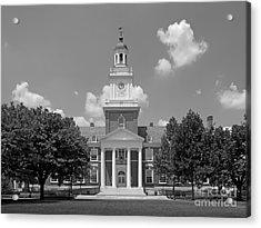 Johns Hopkins Gilman Hall Acrylic Print by University Icons