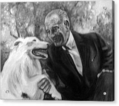 Johnson And Blanco Acrylic Print