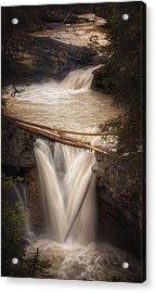 Johnston Canyon Acrylic Print by Stuart Deacon