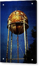 Joiner Water Tower Acrylic Print