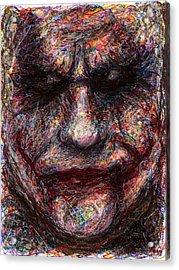 Joker - Face I Acrylic Print