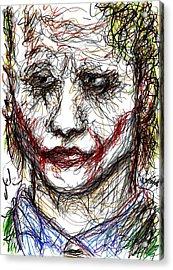 Joker - Interrogation Acrylic Print