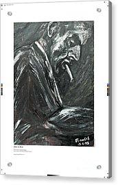 Joker Is Wild Acrylic Print by Artist Geoff Francis