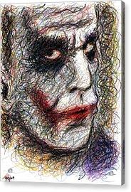 Joker - Pout Acrylic Print