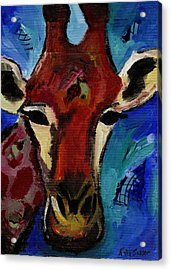 Jolly Giraffe  Acrylic Print