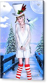 Jolly Holidays Acrylic Print