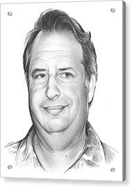 Jon Lovitz Acrylic Print by Greg Joens