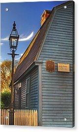 Jonathan Gibbs House Acrylic Print