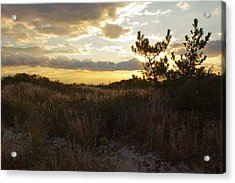 Acrylic Print featuring the photograph Jones Beach Sunset Four by Jose Oquendo