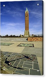 Jones Beach Tower And Anchor New York Acrylic Print by Bob Savage