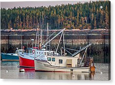 Acrylic Print featuring the photograph Jonesport Maine  by Trace Kittrell