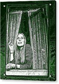Joni Acrylic Print by Allen Beilschmidt