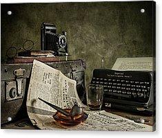 Jonnie Walker War Correspondent Acrylic Print