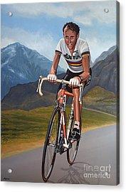Joop Zoetemelk Acrylic Print by Paul Meijering