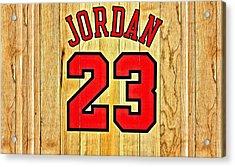 Jordan 23 Poster Acrylic Print