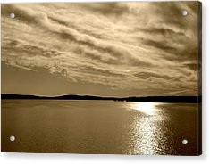 Acrylic Print featuring the photograph Jordan Lake  Nc by Kelly Nowak