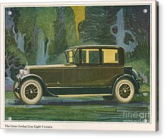 Jordan Line Eight Victoria Car 1925 Acrylic Print by The Advertising Archives