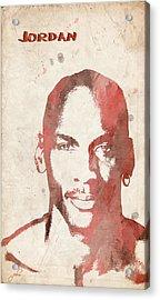 Jordan Acrylic Print by Paulette B Wright