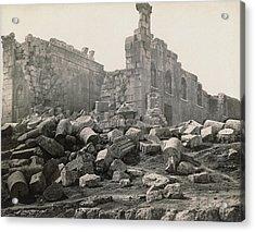 Jordan Roman Ruins Acrylic Print