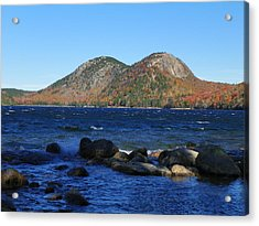 Acrylic Print featuring the photograph Jordon Pond 1 by Gene Cyr