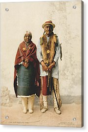 Jose Jesus And Wife Acrylic Print