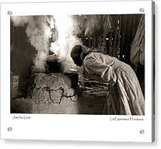 Acrylic Print featuring the photograph Josefina Leon by Tina Manley