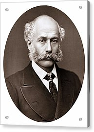 Joseph Bazalgette Acrylic Print by Universal History Archive/uig