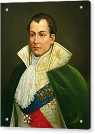 Joseph Bonaparte 1768-1844 Oil On Canvas Acrylic Print