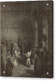 Joseph Interpreting Pharaoh's Dream Acrylic Print