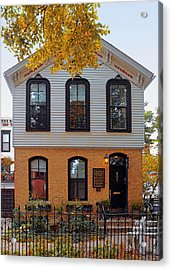 Joseph J O'connell House Chicago Acrylic Print by Christine Till