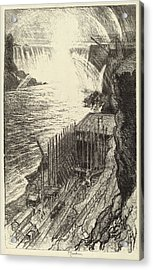 Joseph Pennell, Niagara Rainbows, American Acrylic Print