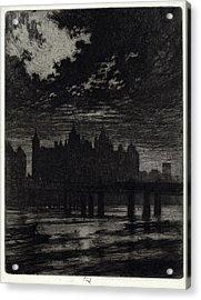 Joseph Pennell, Whitehall Court, American Acrylic Print