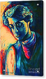Joseph The Dreamer Acrylic Print by Carole Spandau
