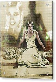 Josephine Baker 2 Acrylic Print