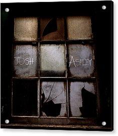 Josh And Ashley Acrylic Print