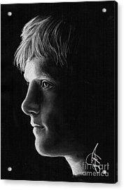 Josh Hutcherson Acrylic Print