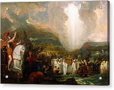 Joshua Passing The River Jordan With The Ark Of The Covenant Acrylic Print