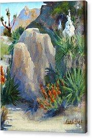 Joshua Tree National Monument Acrylic Print by Maria Hunt