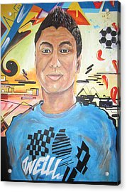 Josias 1991-2012 Acrylic Print by Erik Franco
