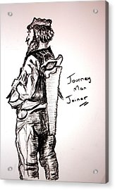 Journey Man Joiner Acrylic Print by Paul Morgan