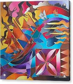 Journey Of The Vaka II Acrylic Print