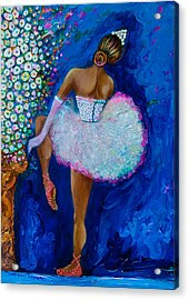 Joy #2 Acrylic Print by Gulgun Turker Fingerhut