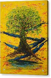 Joy And Strength Acrylic Print by William Killen