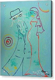 Joy Acrylic Print by Hanna Fluk
