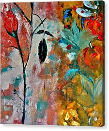 Acrylic Print featuring the painting Joy by Lisa Kaiser