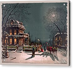 Joy Of The Season Acrylic Print by Lianne Schneider