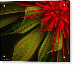 Joyful Blossom Acrylic Print